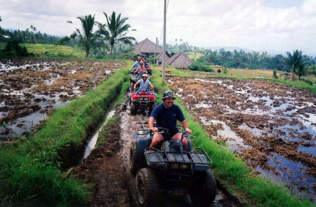 family bali tours - atv ride3