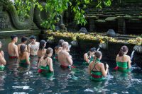family bali tour - tirta empul temple