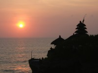 family bali tours -Tanahlot-sunset2
