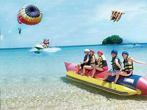 family bali tours - water sport