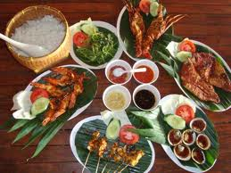 family bali tours - seafood menu